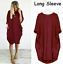 Mini-Dress-Casual-Stretch-dresses-for-women-Loose-Oversized-Ladies-summer-Tops thumbnail 23