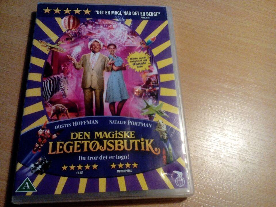 Den magiske legetøjsbutil, DVD, familiefilm