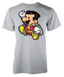 Shazam Gaming Mashup Adult T Shirt