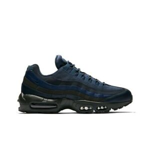 quality design f9be0 d1851 Image is loading Nike-Air-Max-95-Essential-Squadron-Blue-Squadron-