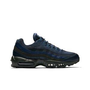 51c1aa1d17 Nike Air Max 95 Essential (Squadron Blue/Squadron Blue) Men's Shoes ...