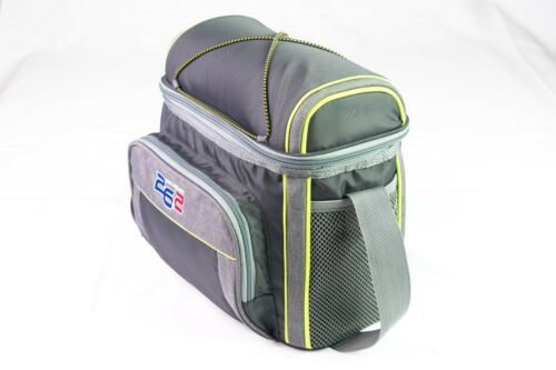 26.2 The Long Run 12 Can Softside Insulated Cooler Lunch Bag-GREY