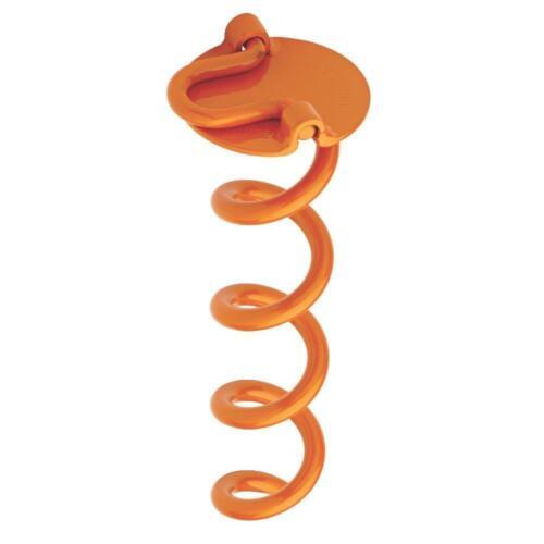 Steel Folding Ring Spiral Ground Anchor Vortex 10 In