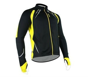 SANTIC-Cycling-Fleece-Thermal-Long-Jersey-Winter-Jacket-Yellow-Gabriel