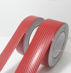DIY-Adhesive-Red-4D-Texture-Carbon-Fiber-Vinyl-Tape-Car-Wrap-Sticker-Film-AB