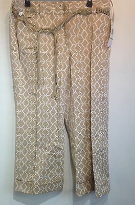 jones new york kapalua capris size 14