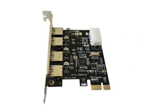 Card up to 5Gbps VLI Chip PCIE 4-Port USB 3.0 SuperSpeed PCI Express Expansion