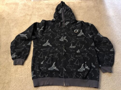 Vintage Streetwear Orisue Origami Crane All over P
