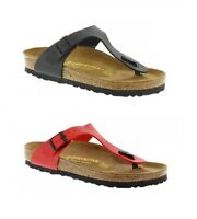 Birkenstock Gizeh Birko Flor - Womens Sandals - Narrow Fit - Brand