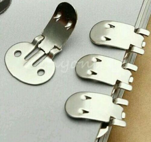 BLANK STAINLESS STEEL BROOCH PAIR SHOE CLIPS CLIP FINDINGS WEDDING CRAFT NEW UK