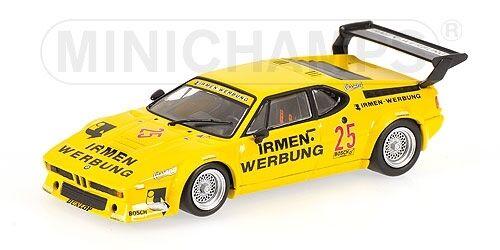 Bmw m1 Team cassani DRM 1980 m. Winkelhock 1 43 Model Minichamps