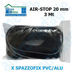 AIR-STOP 20MMx3MT Spazzolino di tenuta per Spazzofix Alu/Pvc