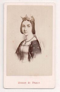 Vintage CDV Joan of France, Du...