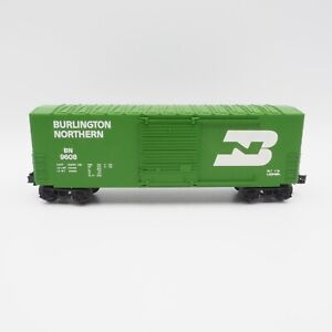 Vintage-NIB-Lionel-O-Scale-Gauge-Burlington-Northern-Hi-Cube-6-9608-Box-Car