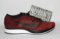 Nike Flyknit Racer Fire Rooster University Red Black 526628 608 HTM Oreo Lunar