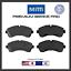 Front Disc Brake Pad Set Severe Duty Pads For 10+17 Mercedes-Benz Sprinter 3500