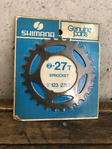 Vintage-Shimano-Freewheel-27t-Sprocket-27-Tooth-Part-123-2702-NEW-NOS