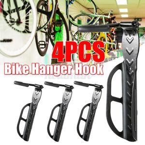 Bike Rack Hook Storage Steel Mounted Wall Hanger Hanging Stand Bicycle Holder