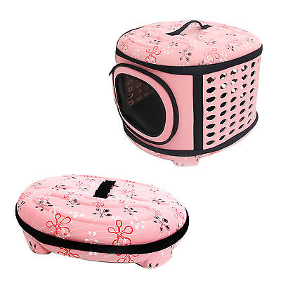 Pet Dog Bag Carrier Travel Outdoor Foldable Tote Zipped Folding Dog Cat Backpage