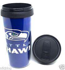 NFL Seattle Seahawks Wrap Logo Insulated Travel Coffee Mug 14ozs