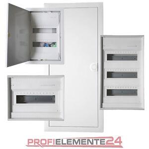 hager verteilerkasten sicherungskasten auf unterputz hohlwand ebay. Black Bedroom Furniture Sets. Home Design Ideas