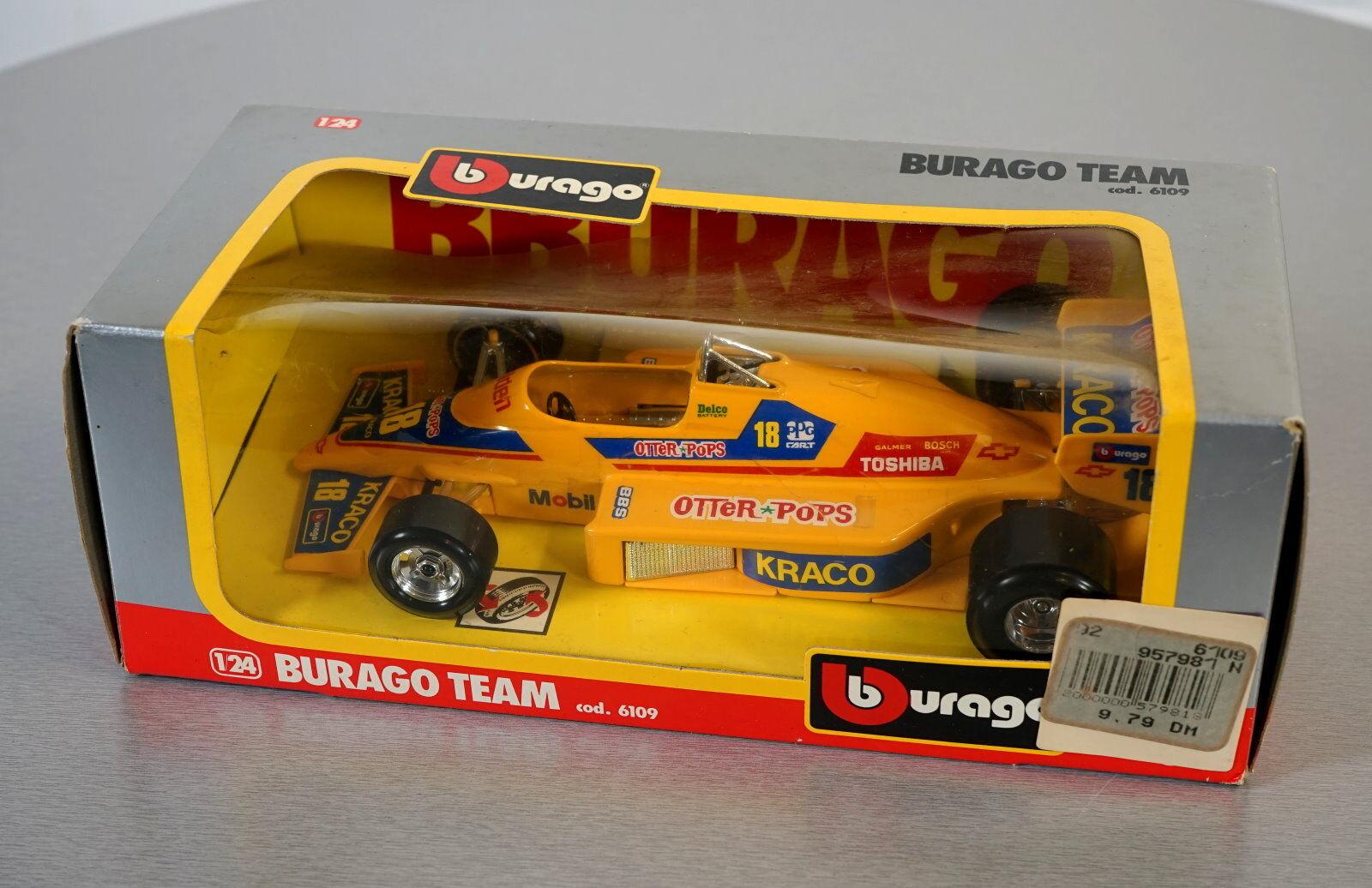 Burago 1 1 1 24 Burago Team - 6109 - Die-Cast Racing Car Scale Modell Auto NEU OVP f33160