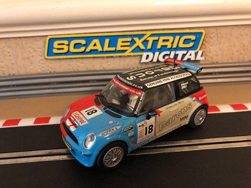 Scalextric Digital Mini Cooper No18 Barons C2733 entièreHommest entretenue  Comme neuf CONDITION  Envoi gratuit pour toutes les commandes