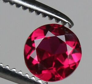 Natural  Red Ruby 1.75 Ct VVS1 Perfect Round Cut Loose Gemstone