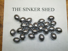 5 oz bell sinkers brass eyes FREE SHIPPING quantity of 6//12//25//50//100//250