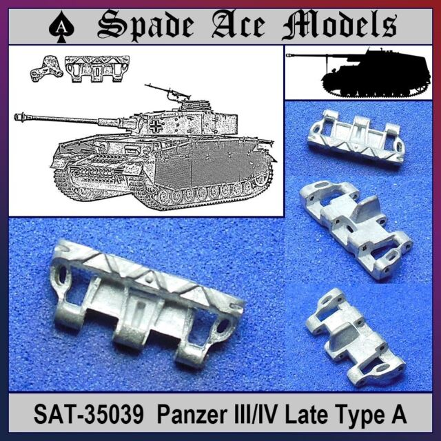 Spade Ace 1/35 35039 Metal Track Panzer III/IV Late