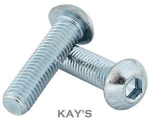 High Tensile Allen Bolts M4 M5 M6 M8 Socket Flange Button Head Screws