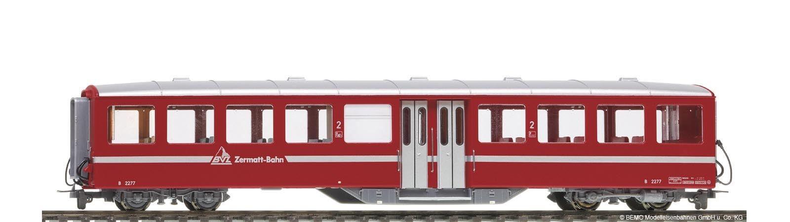 Bemo-h0m - 3257516 estrecho pista-a los turismos 2.kl.b2276 BVZ rojo mitteleinstiegsw