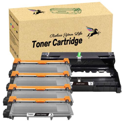 Black TN660 Toner /& DR630 Drum Lot For Brother MFC-L2720DW L2740DW DCP-L2540DW