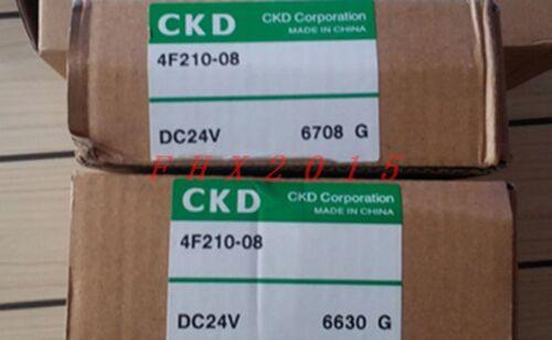 ONE NEW CKD Solenoid Valve 4F210-08-DC24V