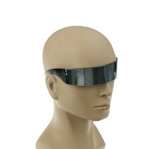 futuristic wrap around monob costume sunglasses mask novelty glasses party GX