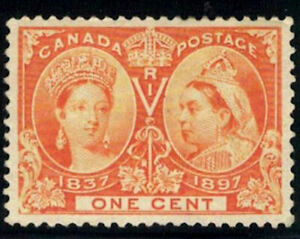 Canada-Stamp-51-Queen-Victoria-Jubilee-1897-1-MLH