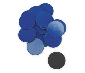 Brand New Lot of 15 Packs! Quatret Magnetic Circles Blue (20 Per Pack)
