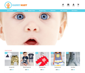 Established-Baby-Clothes-Website-BUSINESS-For-Sale-Profitable-DropShipping