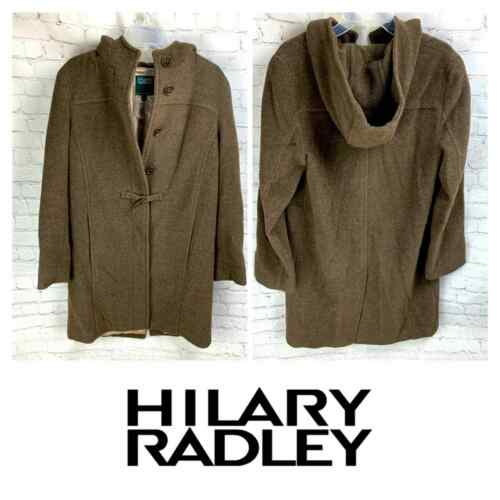 Hilary Radley Wool Toggle Overcoat