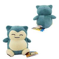 "6"" Cute Pokemon Snorlax Kids Plush Soft Toy Boys Stuffed Toy Doll Birthday Gift"