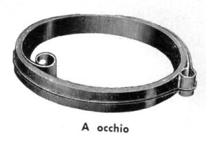 2,3x0,18x540 Clock Mainspring Ressort Muelle Zugfeder Molla Sveglia SWIZA 23 48