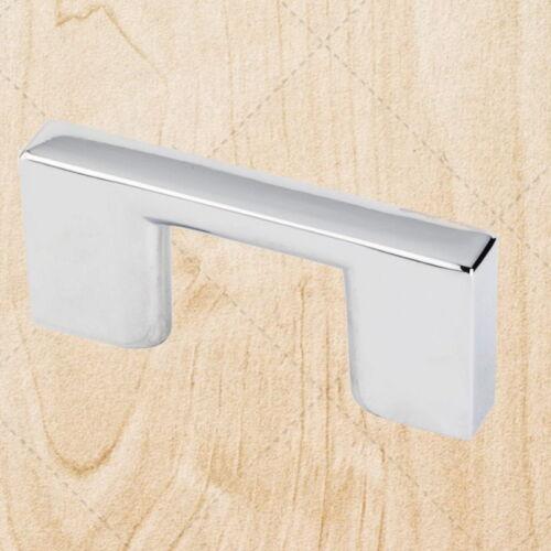 Cabinet Hardware Square Bar Pulls ps35 Polished Chrome 32 mm CC Handle
