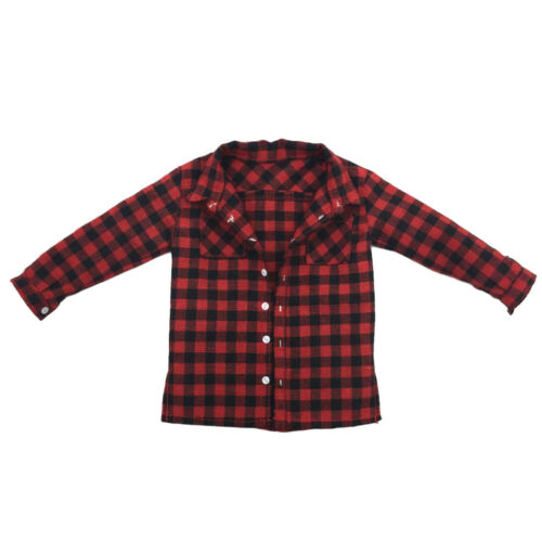 """1//6 Scale Male Plaid Shirt Clothes Men Clothing for 12/"""" Action Figure Body"""