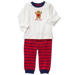 12d6582b9 0 3 6 9 12 M Gymboree 2pc BEAR HUGS Valentine's Set Shirt Pants Baby ...
