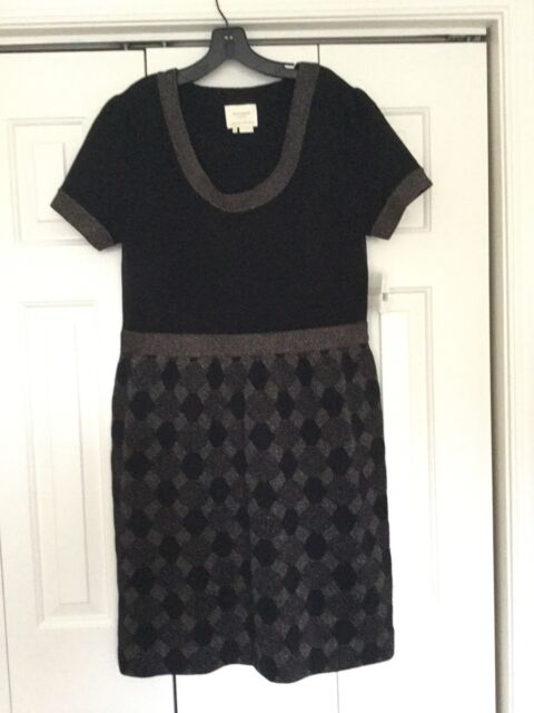5420fa419120 Kate Spade Argyle Shimmer Sweater Dress XL for sale online | eBay
