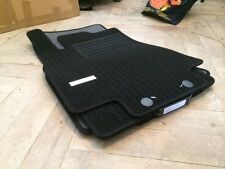 Kit 4 tapis de sol noirs Mercedes classe A W169 Fussmatten Tappeto Alfombras cdi