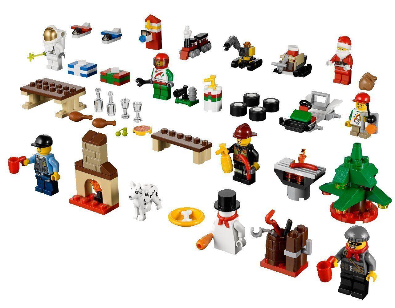 Lego City City City 60024 Adventskalender Weihnachten 492012