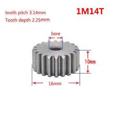 45# Steel Motor Gear Spur Pinion Gear 3.0Mod 46Tooth Thickness 30mm x 1Pcs