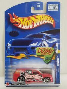 Red Exclusive 2002 Hot Wheels Fandango