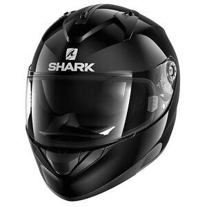 NEU-SHARK-Helm-Ridill-schwarz-glaenzend-Gr-L-59-60-Motorradhelm-Sonnenblende
